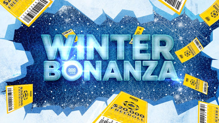 Акция Winter Bonanza на 888 Покер